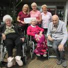 Front Row: Sheila Fitzpatrick, BB Kiely and Noel McGuinness and back row: Mona Sweetman, Dora Fitzpatrick and Sile Seery
