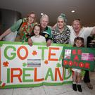 Transplant Team Ireland is managed by the Irish Kidney Association. Pictured was Transplant Team Ireland's Paul Prendergast (centre) (kidney transplant recipient) from Swords with his daughters Sharon and Elaine and grandchildren Ashleigh, Clare and Molly
