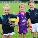 Cara Hardiman, Lana Cullen and Sophia Seamore at the O'Dwyer's GAA camp