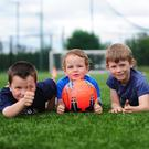 Liam, Donnacha and Cillian at the ALSAA summer camp