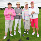 Patricia Lynam, Brid Harrington, Joan Sheridan and Ann Heary at the Fingal Ravens golf classic