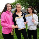 Clodagh Gillen, Amy Bergin and Meghan Rogers at Loreto Balbriggan