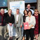 Greg Scollan, Carol Matthews, Cllr Tony Murphy, Annemarie Gleeson, Hilda Comerford, Kieran O'Brien and Mary Conway at Citizens' Information