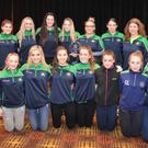 O'Dwyers senior ladies team and Cllr Malachy Quinn