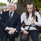 The Piper's Garden at the Seamus Ennis Arts Centre was opened by President Michael D Higgins in 2015
