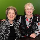 Phyllis Dardis and Mary O'Dwyer at the Standbyme Christmas lunch