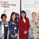Amudha Naidu, Deborah King, Joanne Hession and Karen Devine