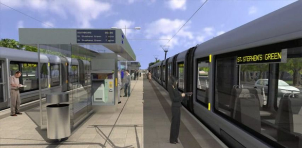 The Metro to Swords could be brought forward