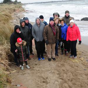 Residents of the Burrow in Portrane feel that their homes could be washed away given the extend of coastal erosion in the area