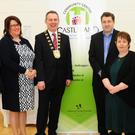 Daniel Wilson, Nuala O'Connor, Fingal Mayor Darragh Butler, Clive Brazier, Jenny Gorman, Eileen Cormack and Paul Reid