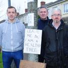 Residents protest 'tree culling' in Woodland Park and neighbouring estates
