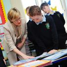 MEP Mairead McGuinness at Naul National School