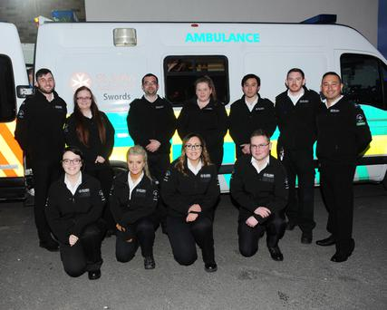 St John's ambulance in Swords at their open day