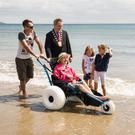 The roll out of the beach wheelchair scheme, launched in Portmarnock last year, has hit a stumbling block
