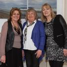 Rita McDermott, Noelle Corcran, Dagmar Grogan, at a recent production by Donabate Dramatic Society, which has just received a grant from Fingal County Council.