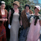 Portmarnock ladies in suitably 1930s fashion in readiness for the upcoming sixth Southern Cross Festival