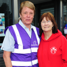 Denise Roughan and Patricia O'Mara at the Remember Us annual cycle