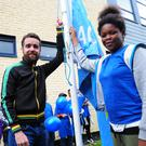 The Active Flag has been raised at Bracken Educate Together NS