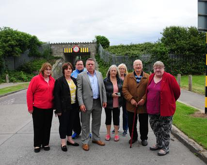 Residents are opposed to a proposed nursing home on a coastal site in Balbriggan