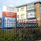 The Tesco store in Ridgewood was hit by an armed raider last week