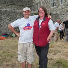 Supervisor Ian Kinch with Fingal Co archaeologist, Christine Baker
