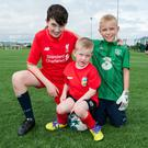 Ciaran Murray, Eoin Duff & Ryan Russell (Centre)