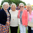 Maureen McKittrick, Eileen Murtagh, Tina Cleary and Sheila Norton at Glasmore Park's 50th anniversary celebrations