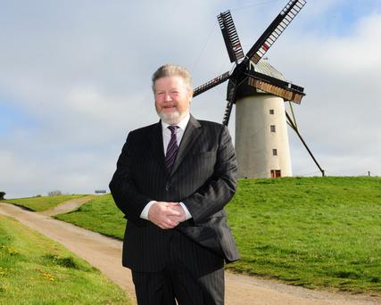 Senator James Reilly at Skerries Mills