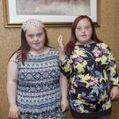 Molly and Tara at the Remember Us Summer Programme closing party in the Bracken Court Hotel