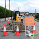 Roadworks in Rush are causing chaos for residents