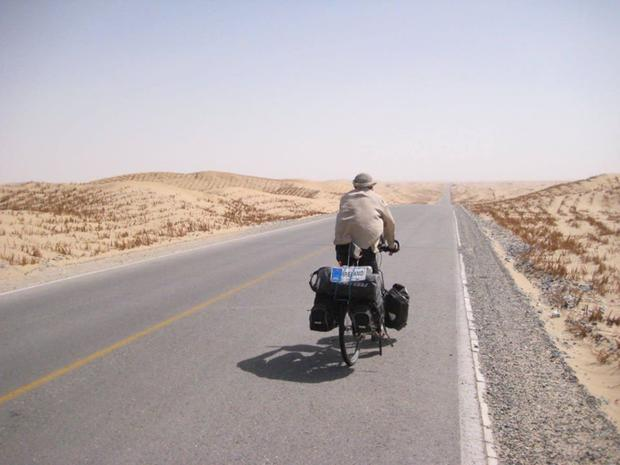 Dermot Higgins from Rush is continuing his epic cycle around the world.