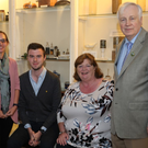 Susan Lovatt (Fingal County Council Senior Librarian), Cathal Dowd Smith (Cobbe Family Archivist), Hugh O' Donnell (Speaker) and Ann Brophy (Manager at Newbridge House)