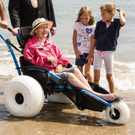 Calls have been made to extend the wheelchair bicycles to parks across Fingal following on from the successful launch of beach wheelchairs on Portmarnock and Skerries beaches
