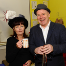 Skerries Community College parents association put on the play The Ladykillers by Skerries Theatre Group in the Little Theatre Skerries. Pictured is Ethna McQuillan & Richard Norman Wright