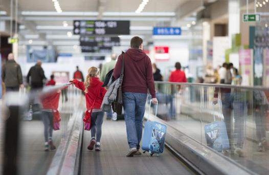 Over one million passengers passed through Dublin Airport over the Christmas season