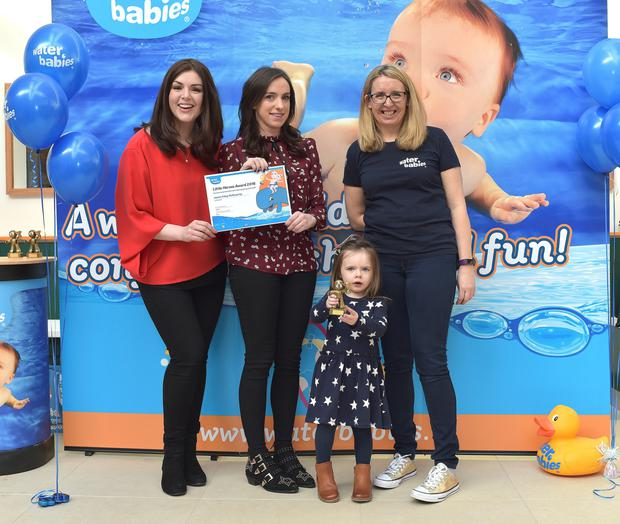 Jenna Foley McGroarty is a Water Babies 'Little Hero'