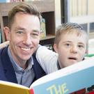 Late Late Show presenter Ryan Tubridy with Isaac Findley