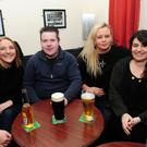 Christine Jordan, Brian Langan, Laura Langan and Denise O'Calaghan at the O'Dwyer's GAA Valentine's table quiz.