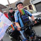 Rush welcomes home round the world cyclist Dermot Higgins