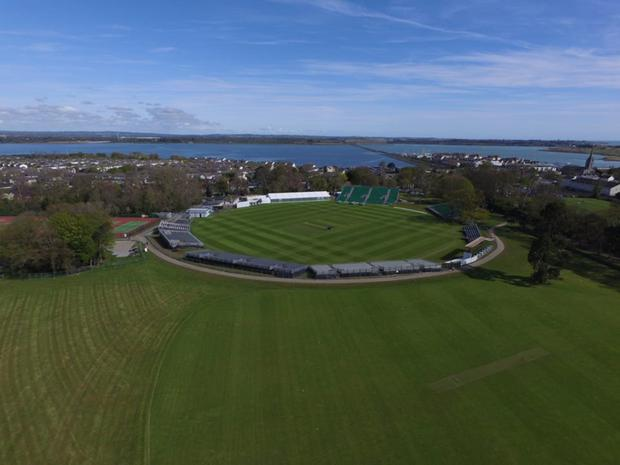 Malahide is all set to host Ireland's inaugural Test Match. Pic: courtesy of Fingal County Council
