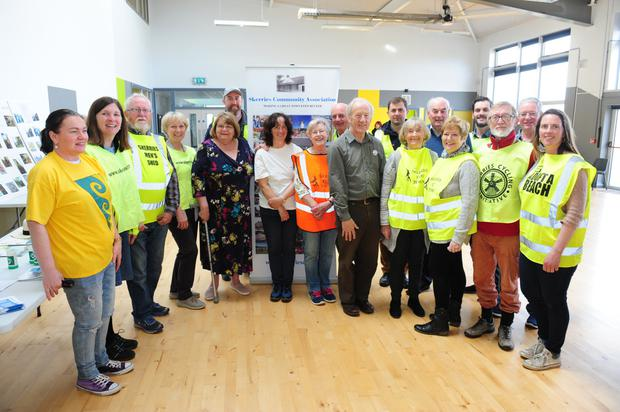 Skerries Community Association information event in Skerries ETNS