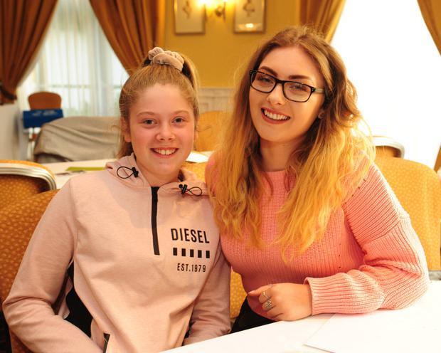 Sarah and Jessica Manning at the Table Quiz for Team Invictus and Lauralynn at Kettles Country House Hotel.