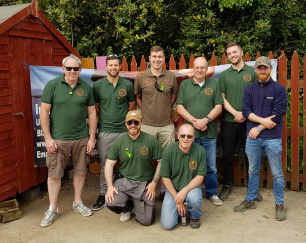 Usher's Lake Angling Club at their first competition in Wexford