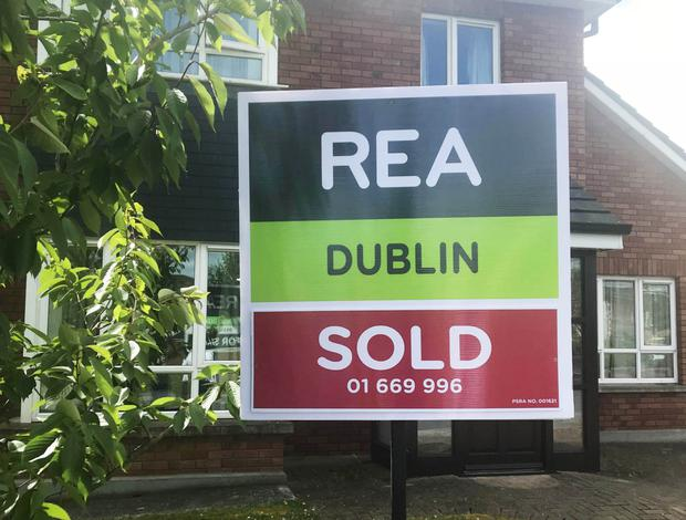 House prices rose by 9.4 per cent in the past year in Fingal