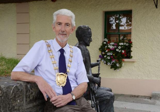 Retired councillor David O'Connor was Mayor of Fingal in 2015-16
