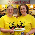 Aoife Brennan and Edel Rogers at the Colour Trend coffee morning