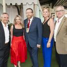 Fingal County Council CEO Paul Reid, Jenny Grogan-Browne, Mayor of Fingal Cllr Anthony Lavin, Veronica Duggan and Fingal Dublin Chamber CEO Anthony Cooney