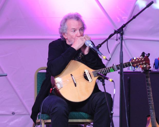 Andy Irvine playing with Usher's Island at the Seamus Ennis Arts Centre