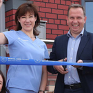 Staff at the opening of Dental Care Ireland, Swords
