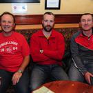 Liam Ò Culbàird, Stuart De Paor and Paddy Quinn at the meeting of the Irish Language Group in Fingallians Clubhouse